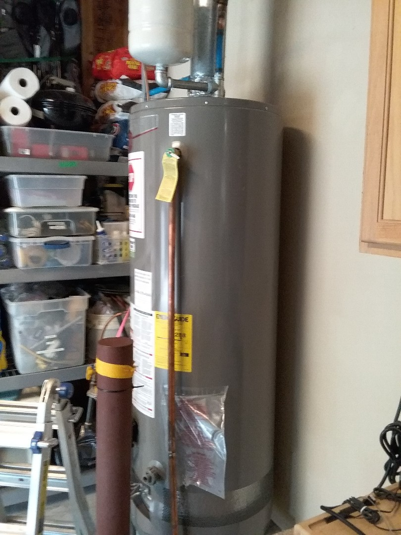 Chelsea, AL - Plumbing and gas. Installed new water heater