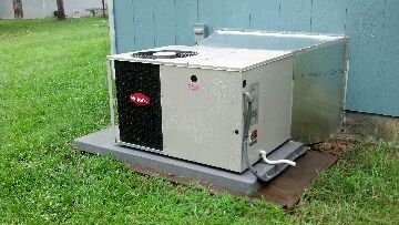 Ashville, AL - performed tune up on a 3 month old nutune package unit checked all components amps volts refrigerant pressures cleaned condensor coil unit running properly