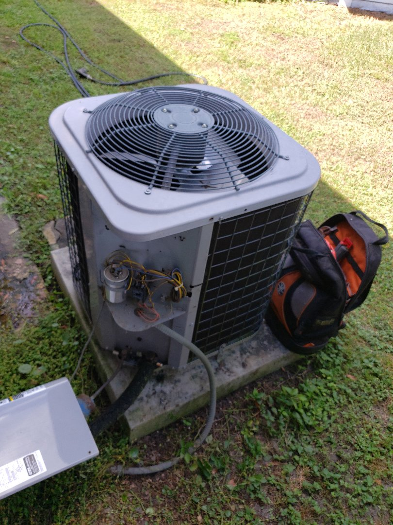 Total system rejuvenation on a 2012 temp star with R410A refrigerant