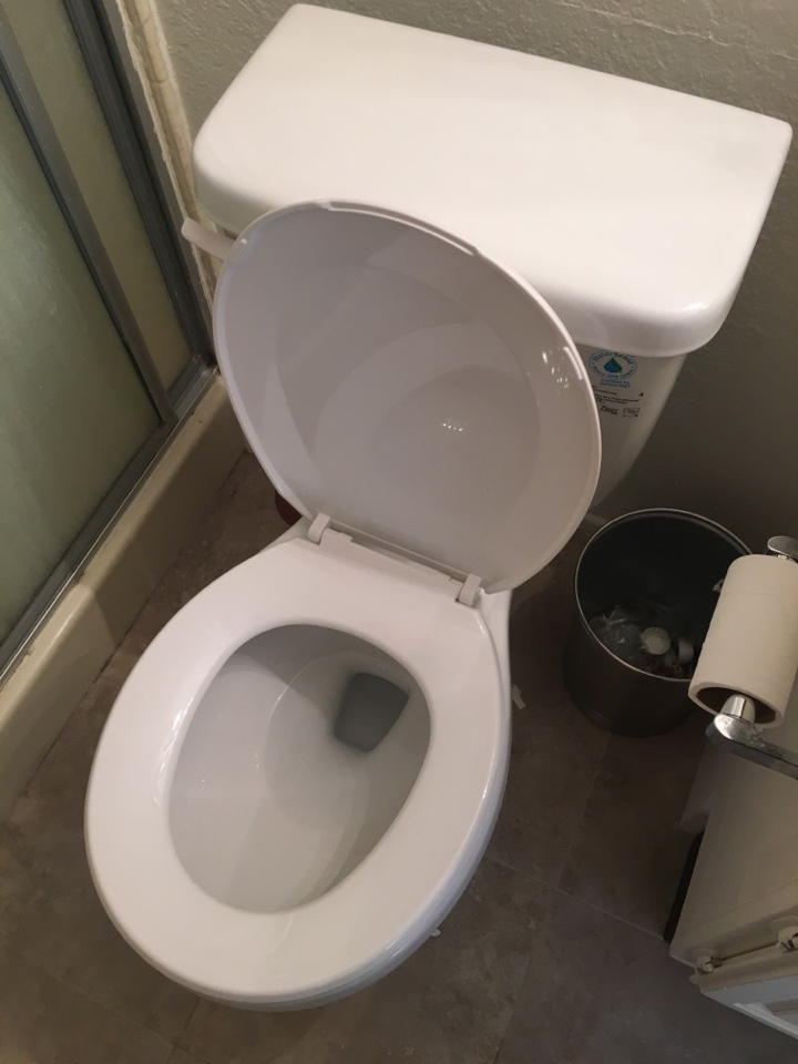 Rancho Cucamonga, CA - Install new round front pro flow toilet