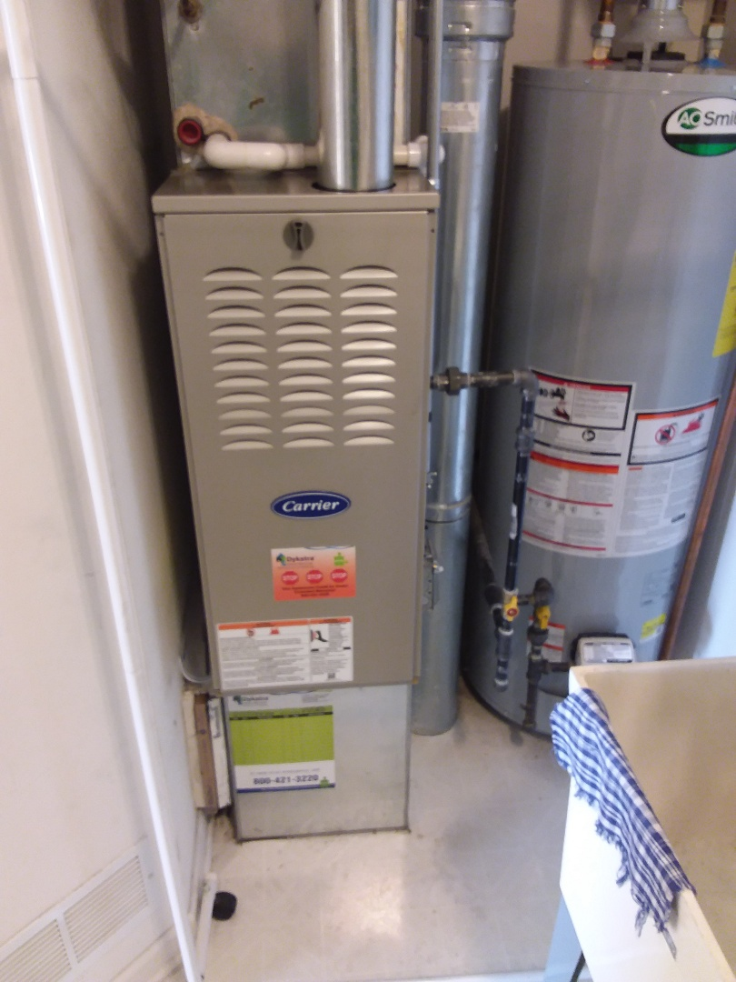 Oak Forest, IL - Carrier furnace replacement