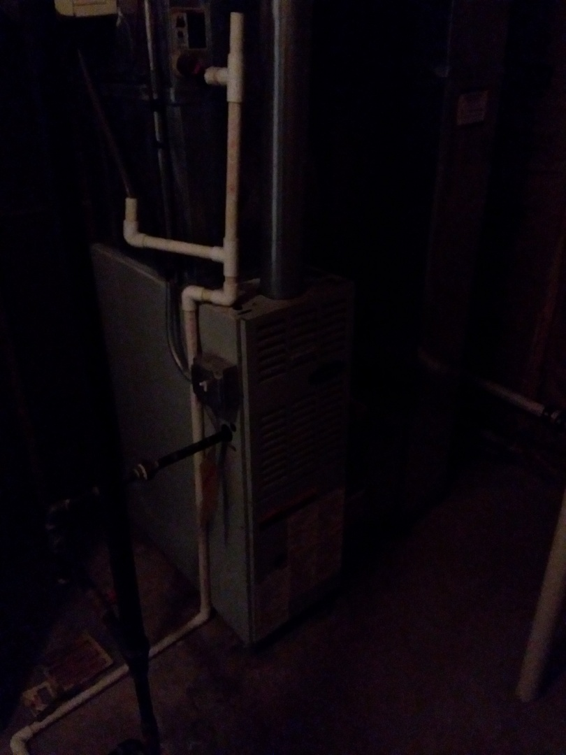 Palatine, IL - Installation of new carrier furnace replacing old carrier furnace