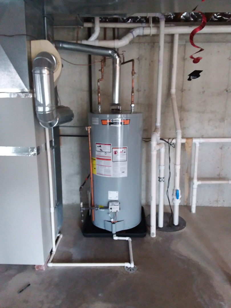 Orland Park, IL - Installation of new 75 gallon hot water heater