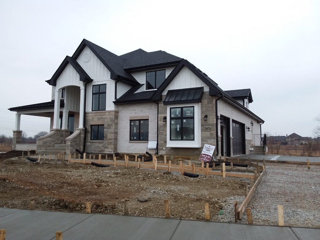 Frankfort, IL - Custom new home project
