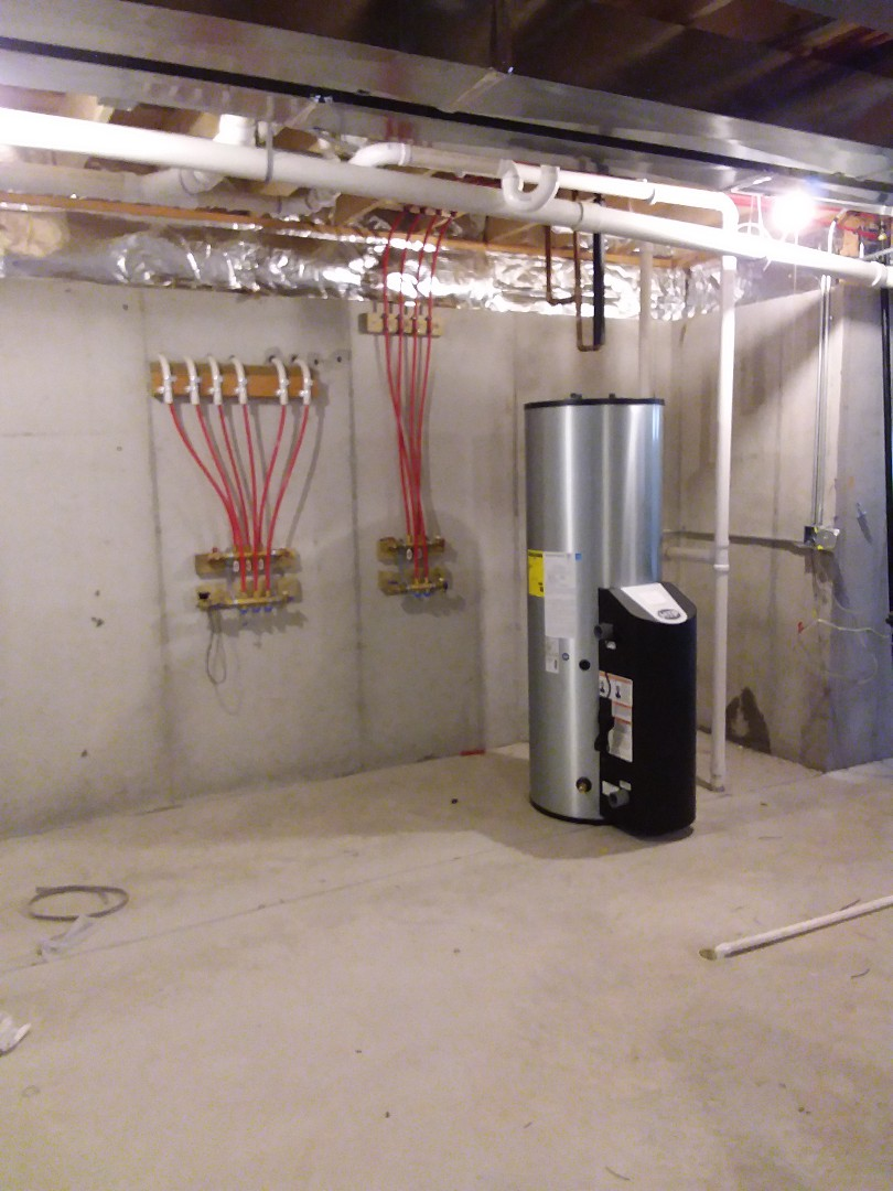 Frankfort, IL - New in floor heating system