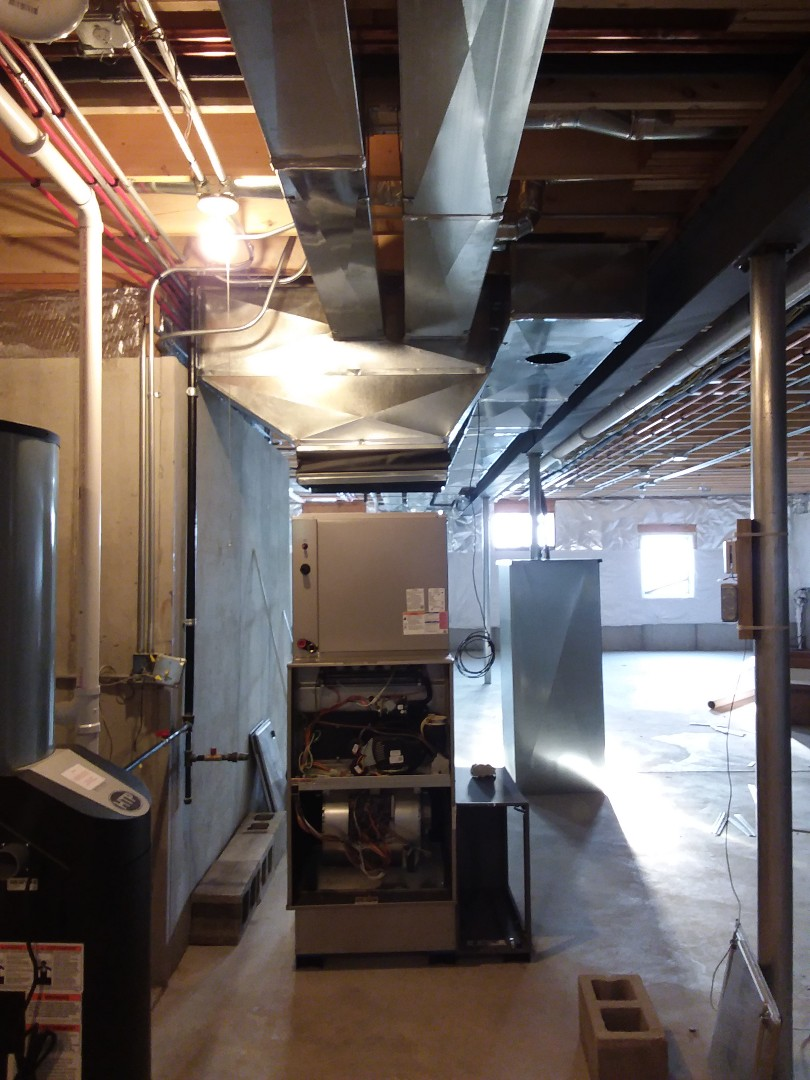 Frankfort, IL - New heating system install