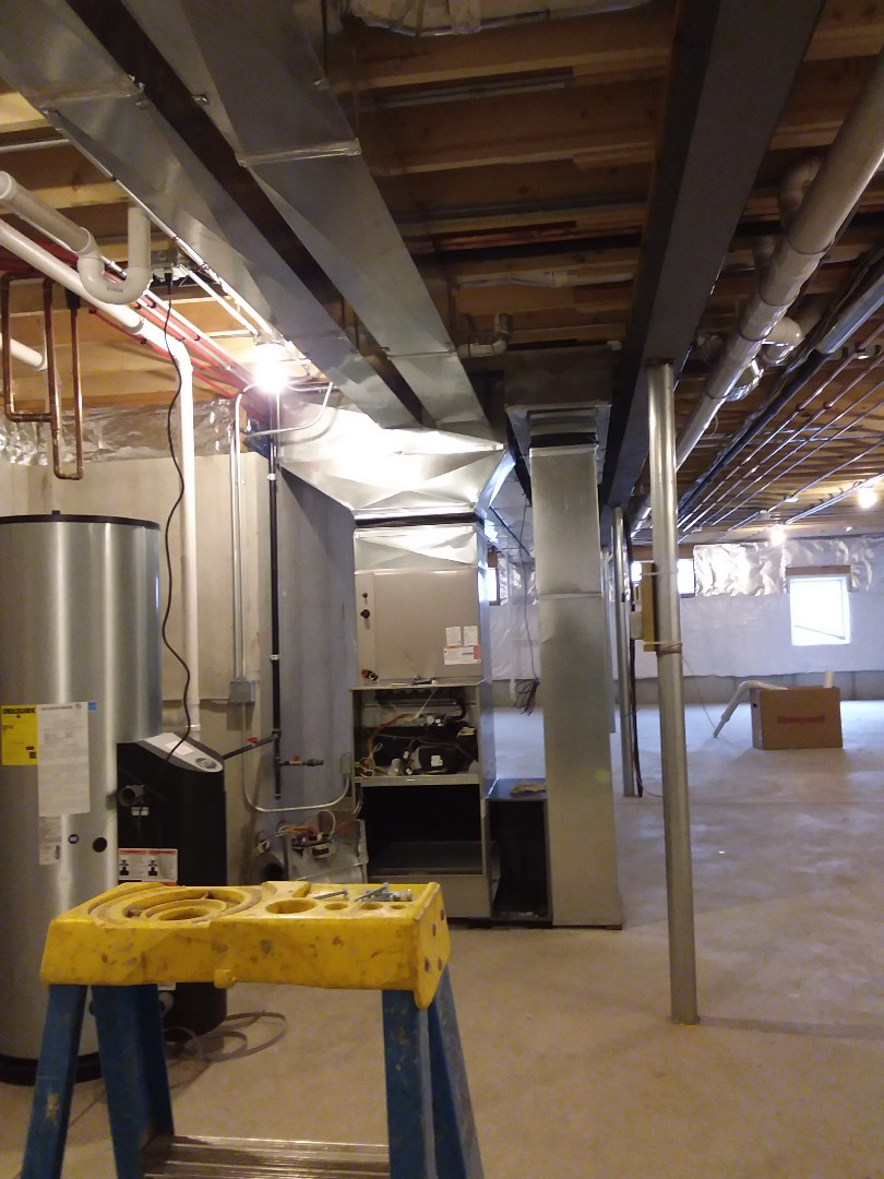 Frankfort, IL - New home hvac installation