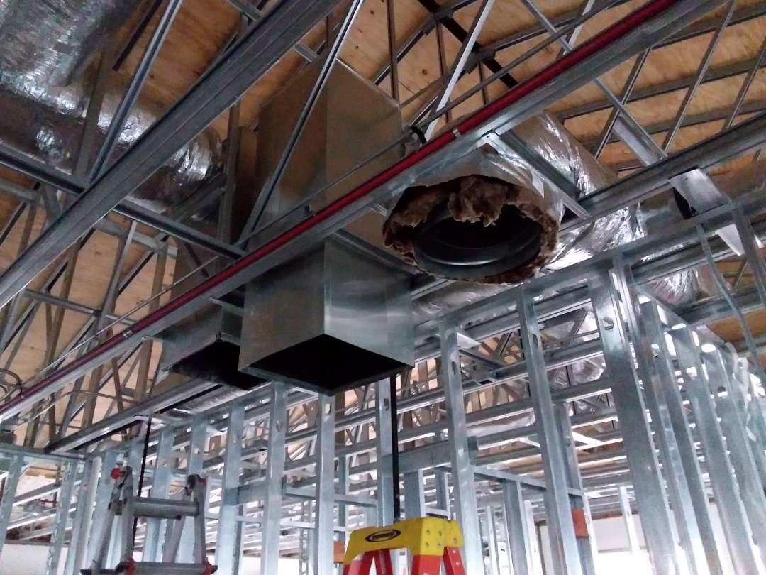 Frankfort, IL - New construction ductwork
