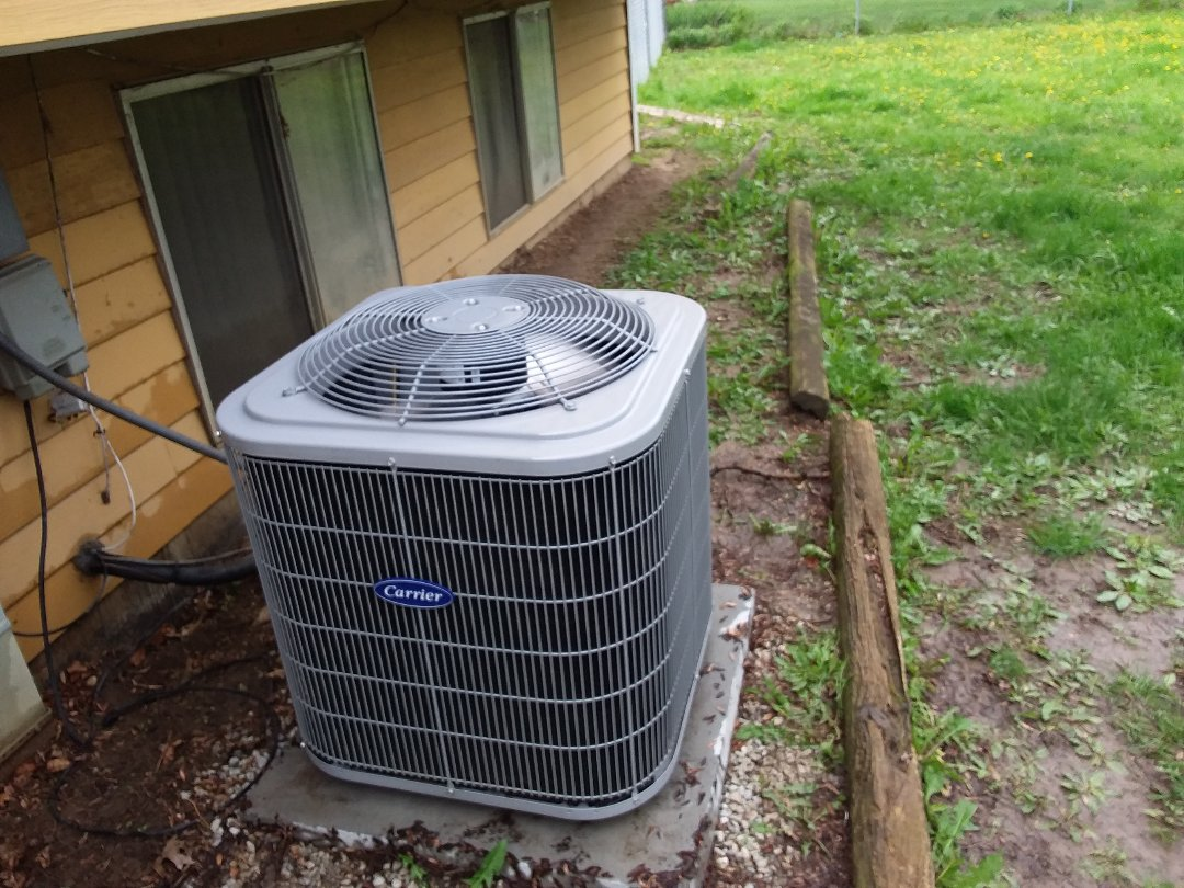 Elgin, IL - Clean and checked a/c