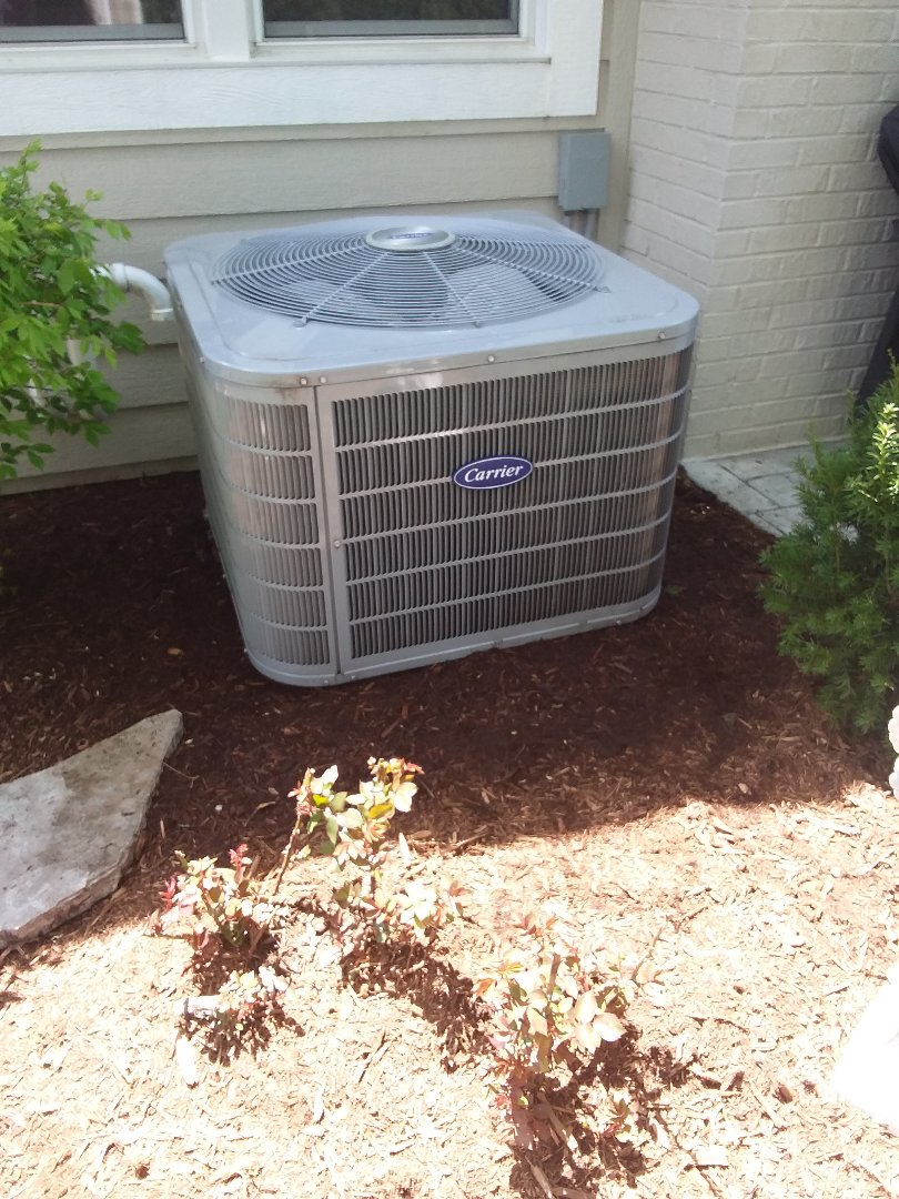 Wheaton, IL - Carrier air conditioner maintenance and cleaning