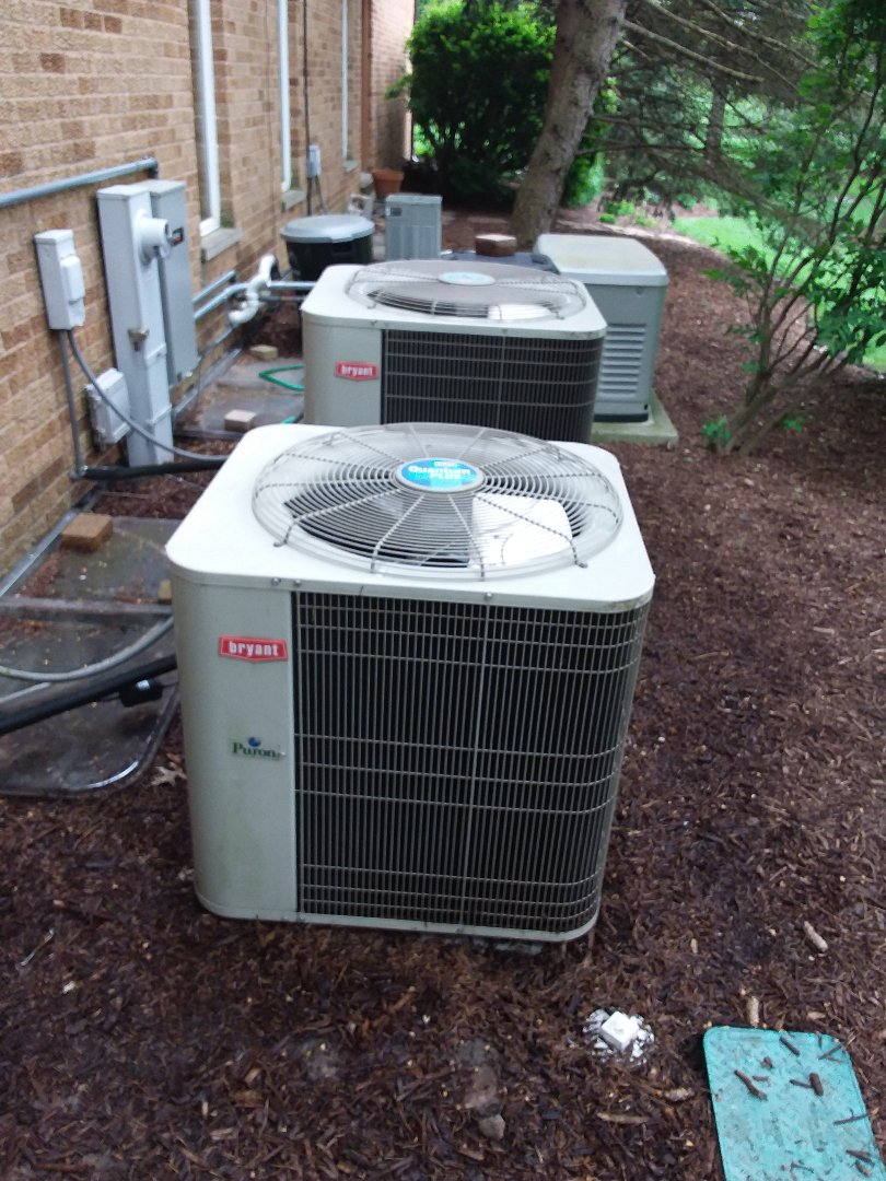 Lemont, IL - Servicing to Bryant's and a Trane AC system