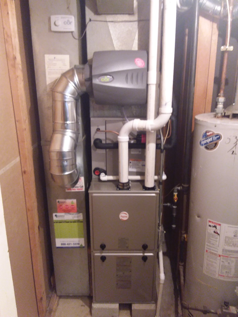 Country Club Hills, IL - Payne high furnace and air conditioner replacement
