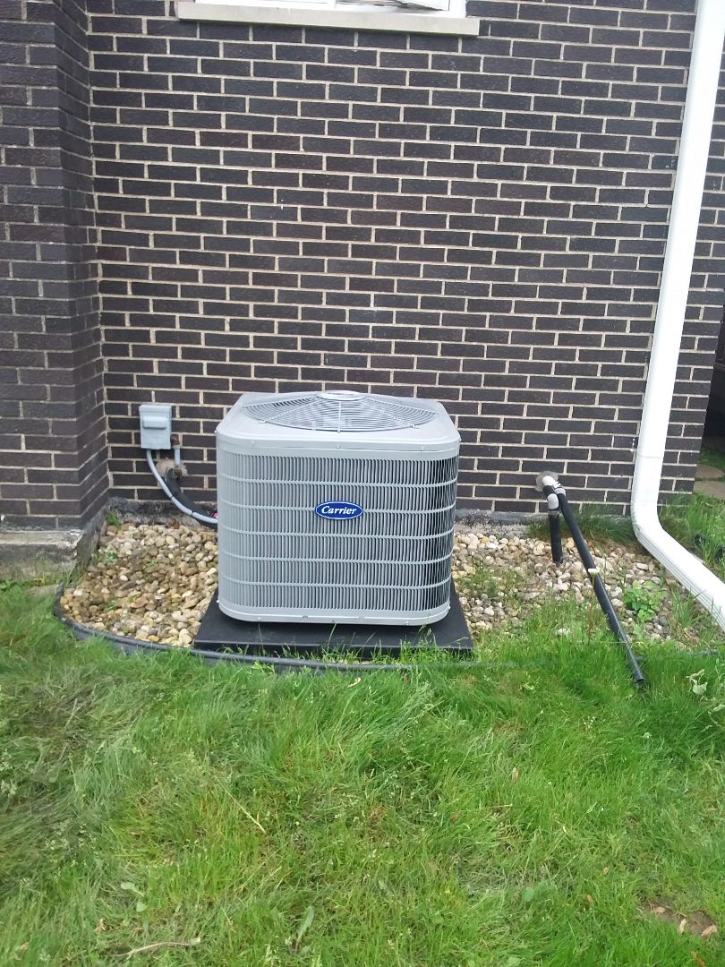 Oak Forest, IL - Installation of Carrier Air Conditioner