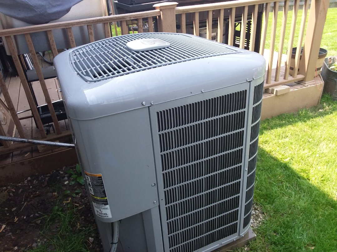 Cleaned and checked a/c