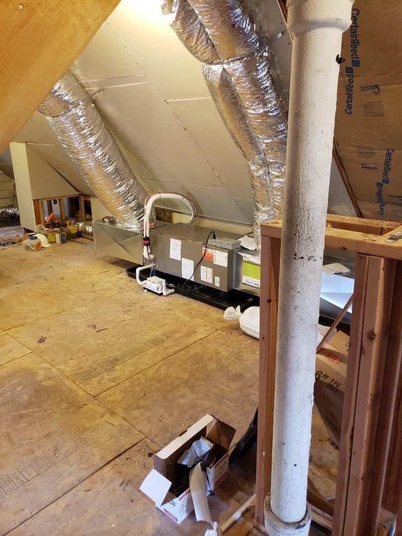 Chicago, IL - ADP air handler installation