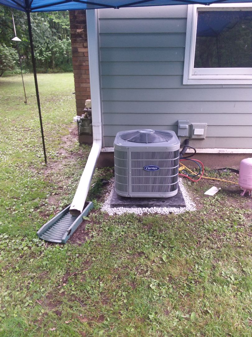 Montgomery, IL - Installation of Carrier Air Conditioner