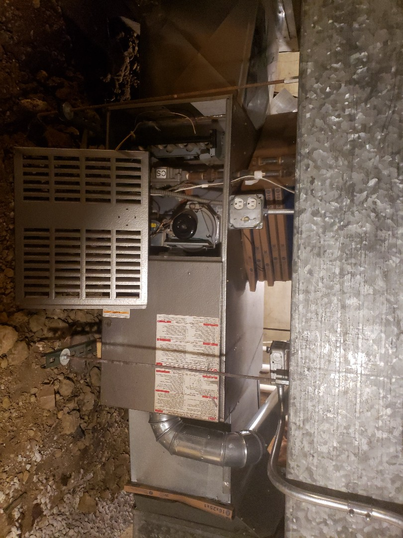 Crestwood, IL - Carrier air conditioner and furnace installation