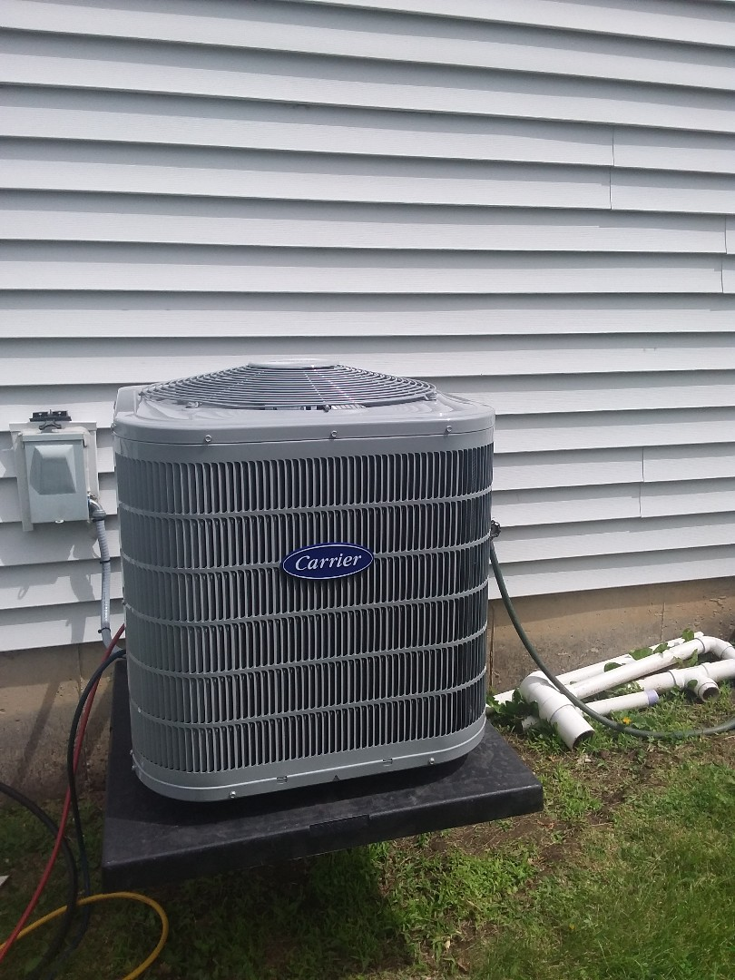 Romeoville, IL - Installation of Carrier Air Conditioner