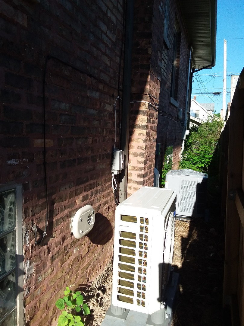 Chicago, IL - Carrier mimi split/ conventional forced air replacement