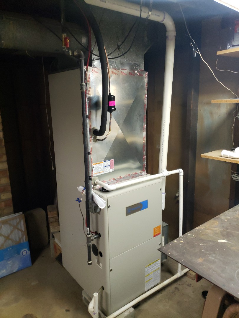 Burbank, IL - Carrier air conditioner installation