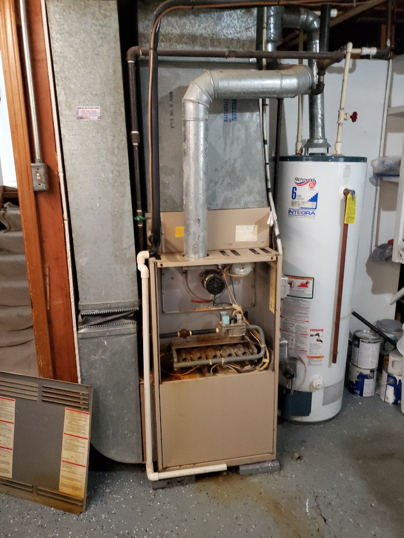 Joliet, IL - Carrier air conditioner and furnace installation