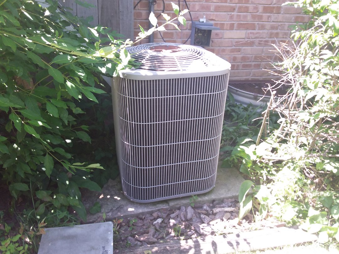Glenview, IL - Cleaned and checked a/c