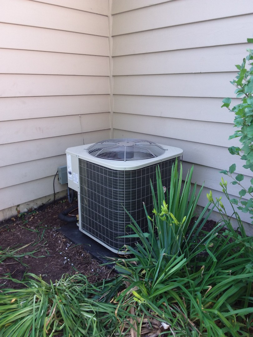 Naperville, IL - Insulation of Payne air conditioner and furnace