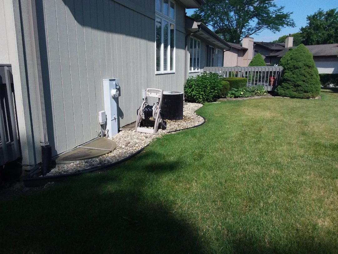 Flossmoor, IL - Cleaned and checked a/c
