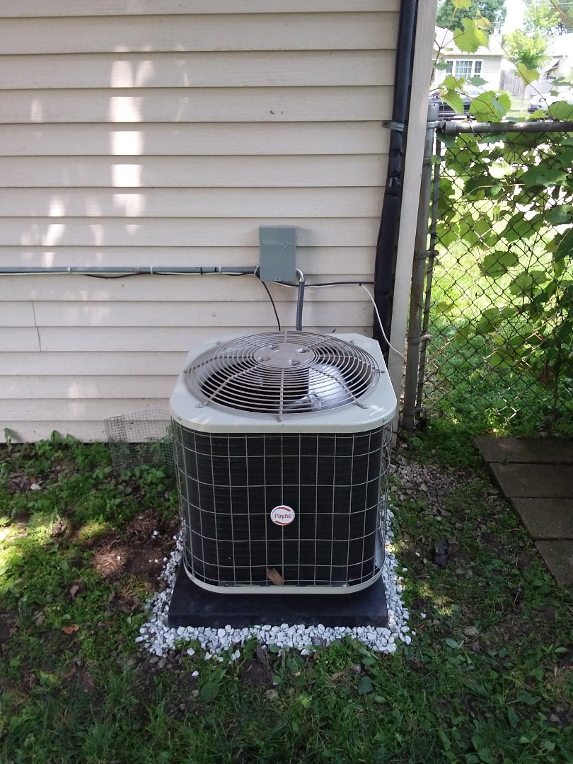 Naperville, IL - Installation of Payne air conditioning