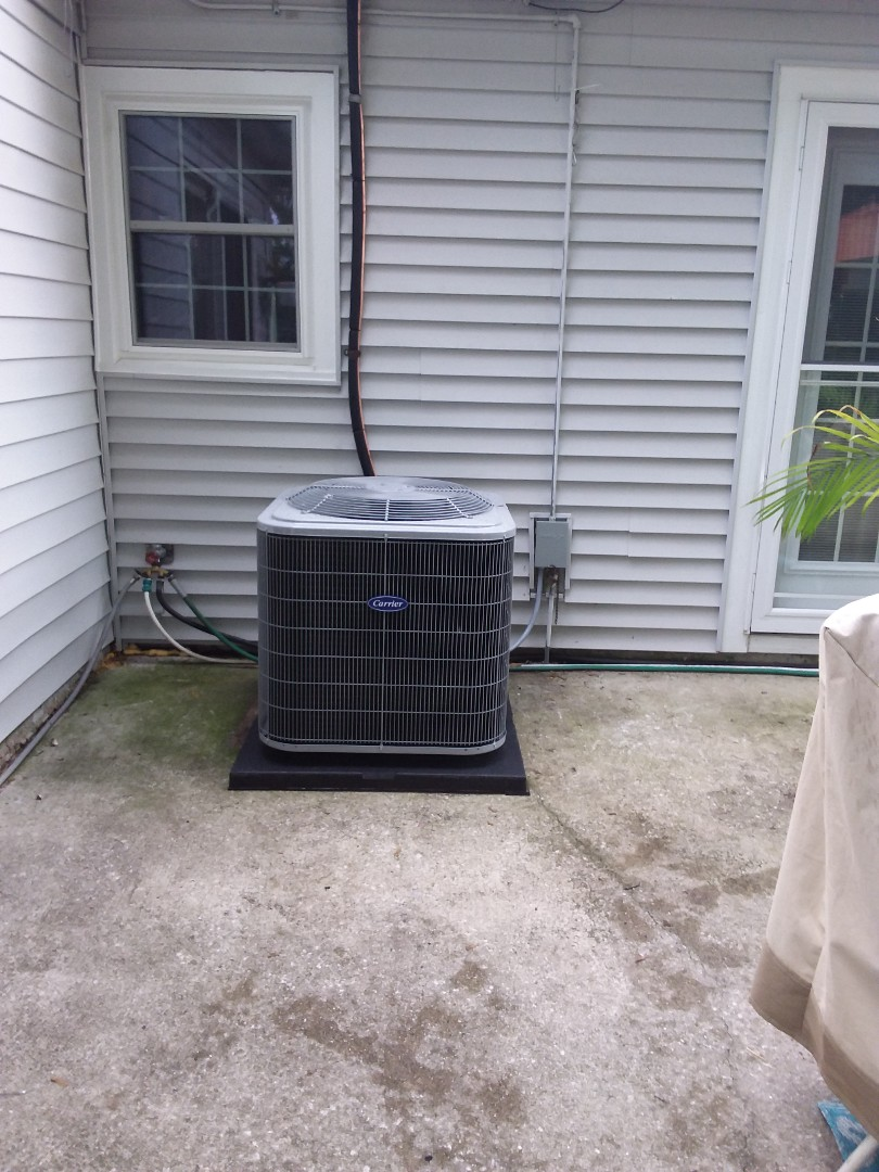 Installation of carrier air conditioning