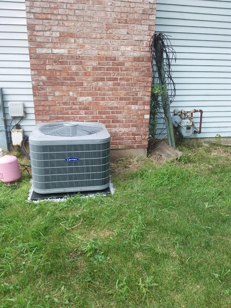 Wheaton, IL - Installation of Carrier Air Conditioner