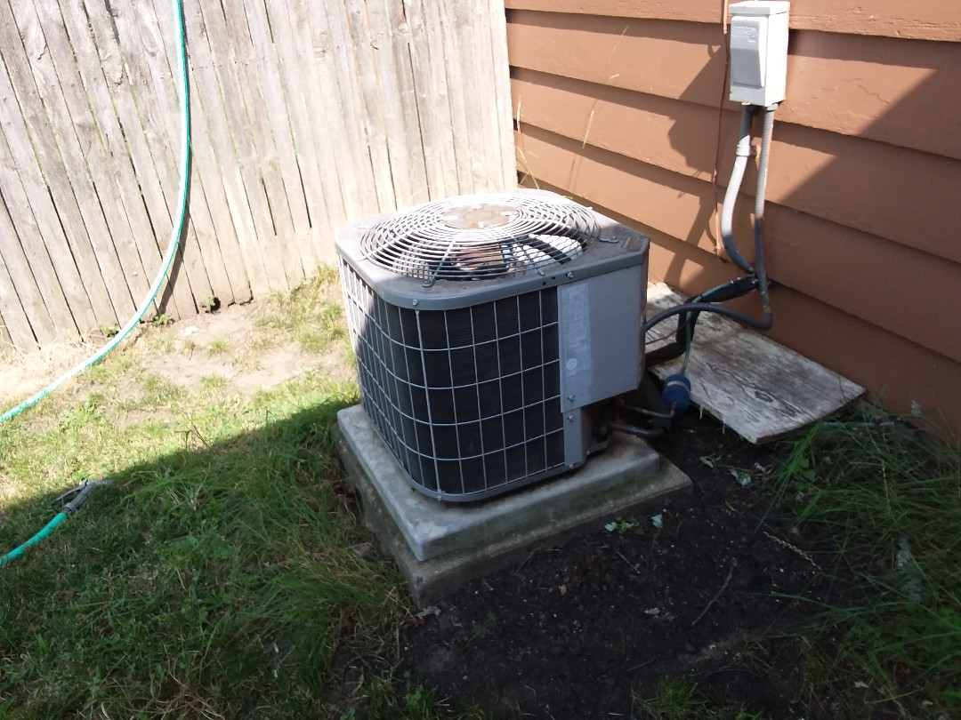 Elgin, IL - Cleaned and checked a/c