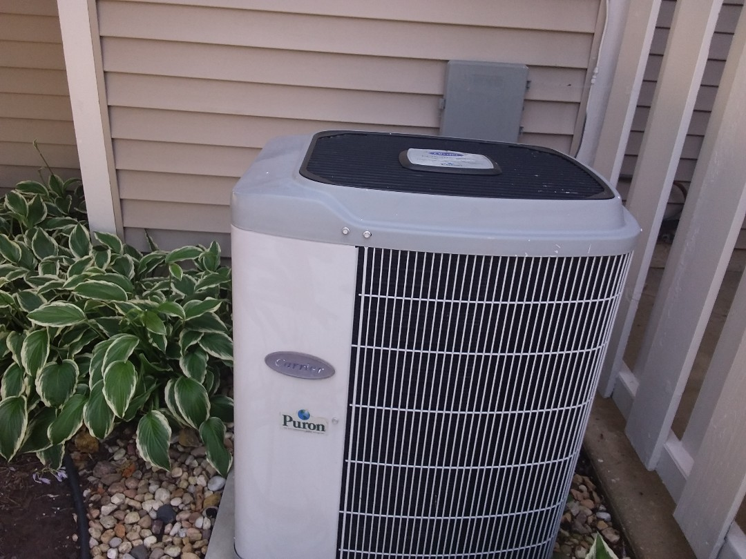 Streamwood, IL - Cleaned and checked a/c