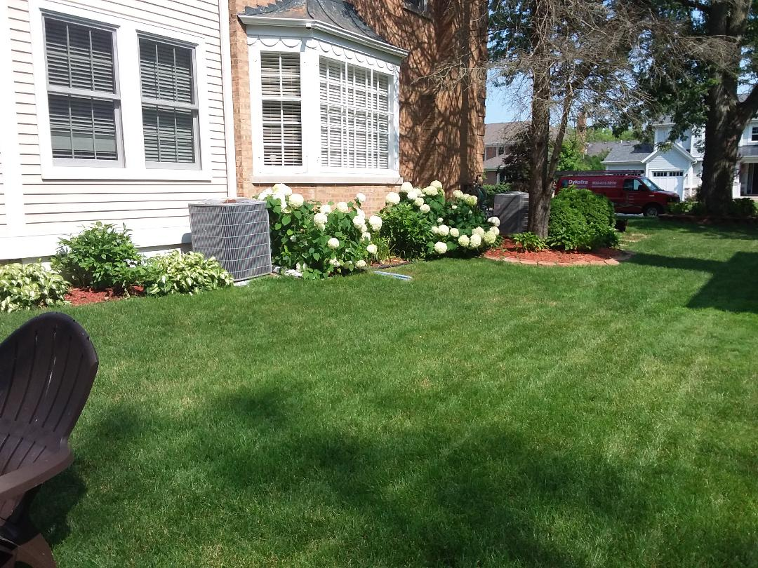Glenview, IL - Cleaned and checked 2 a/c systems