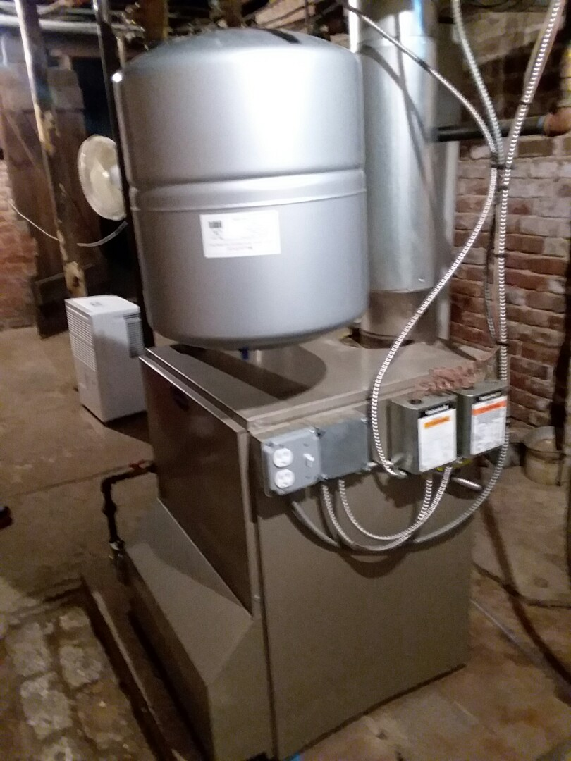 Orland Park, IL - Installing a glycol boiler feed system in historical John Humphrey house