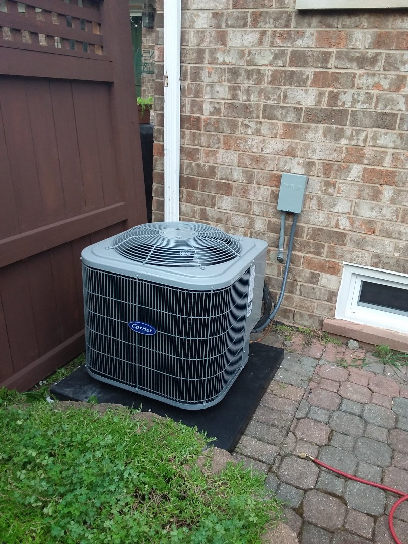 Villa Park, IL - Installation of Carrier Air Conditioner