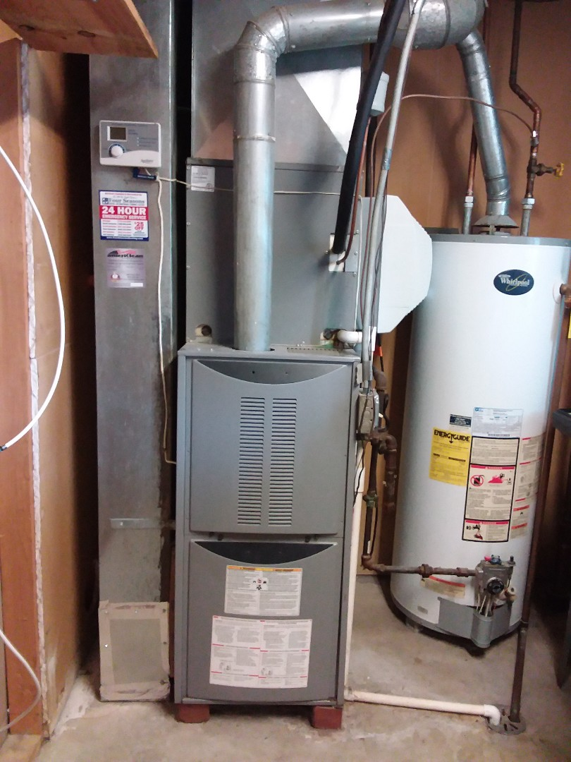Midlothian, IL - Carrier furnace and air conditioner replacement