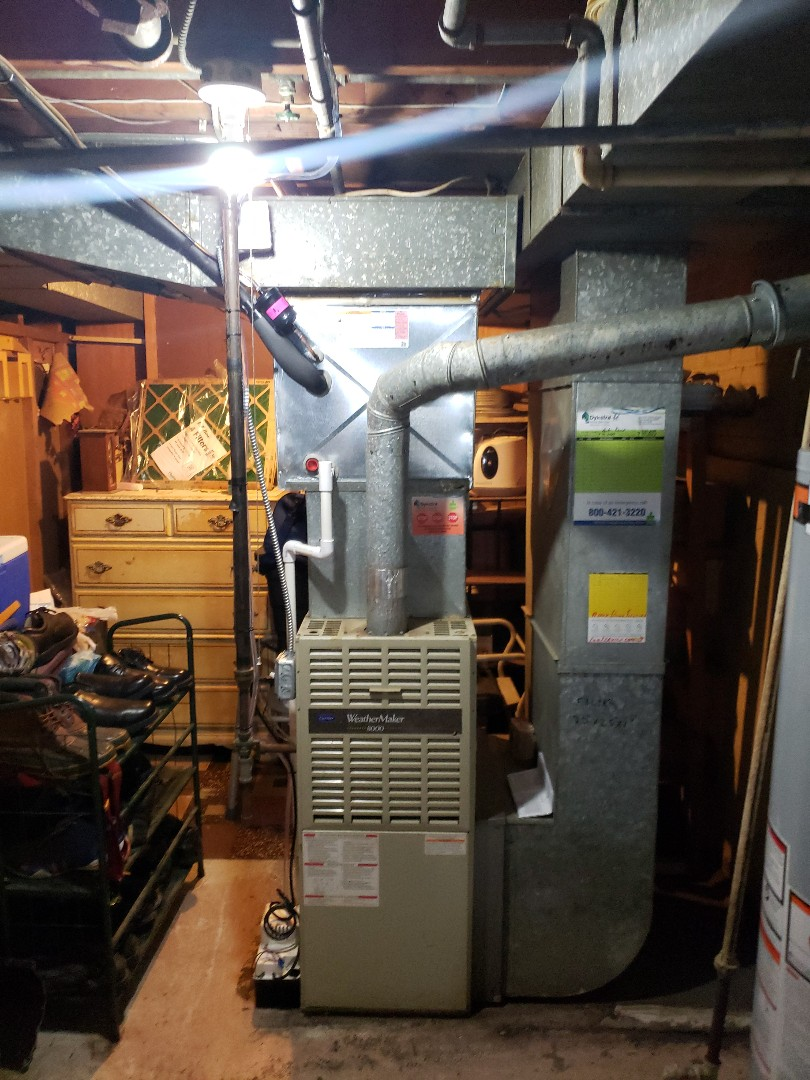 Riverdale, IL - Carrier air conditioner installation