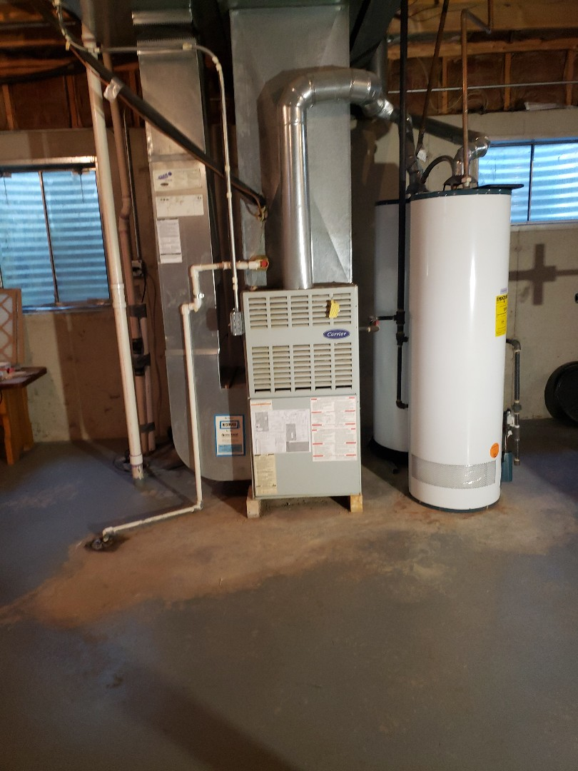 Richton Park, IL - Carrier air conditioner installation