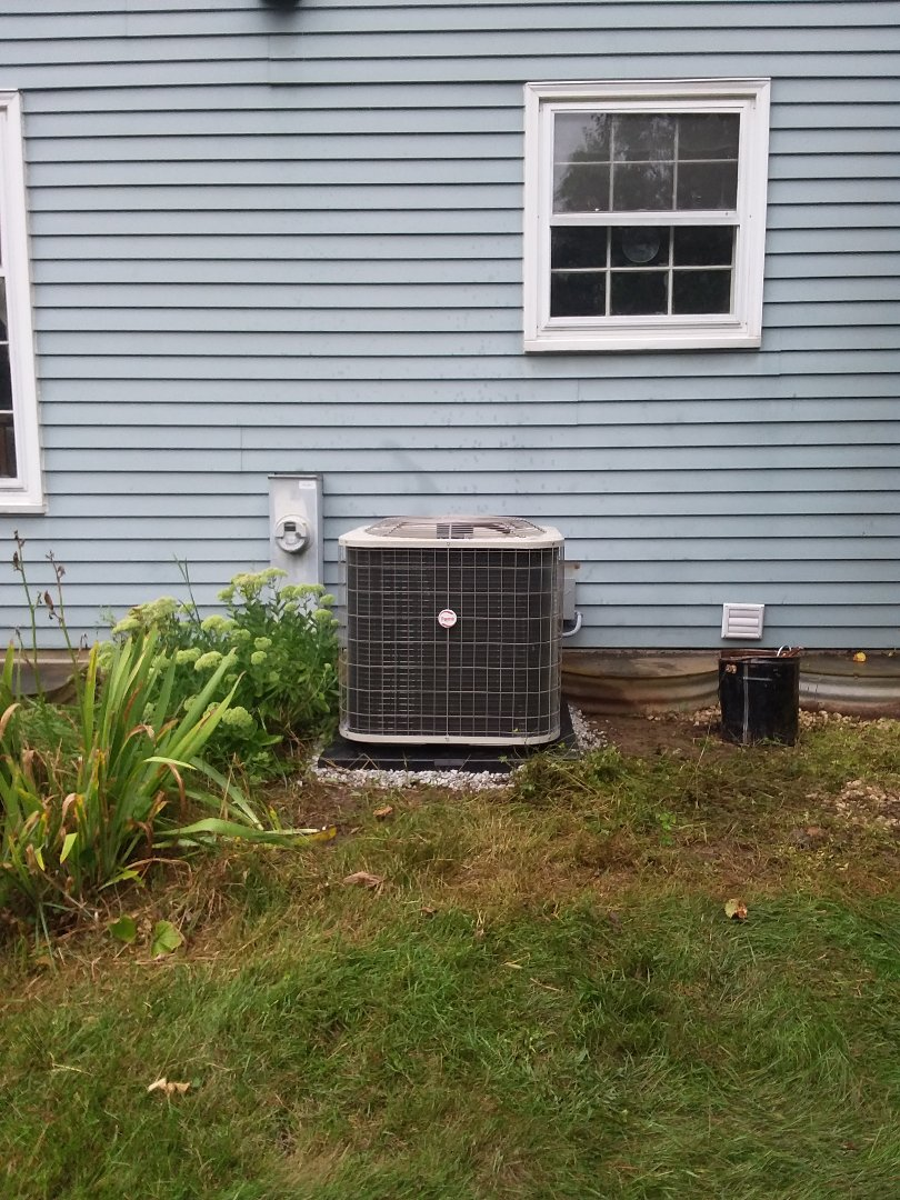 St. Charles, IL - Installation of Payne air conditioner