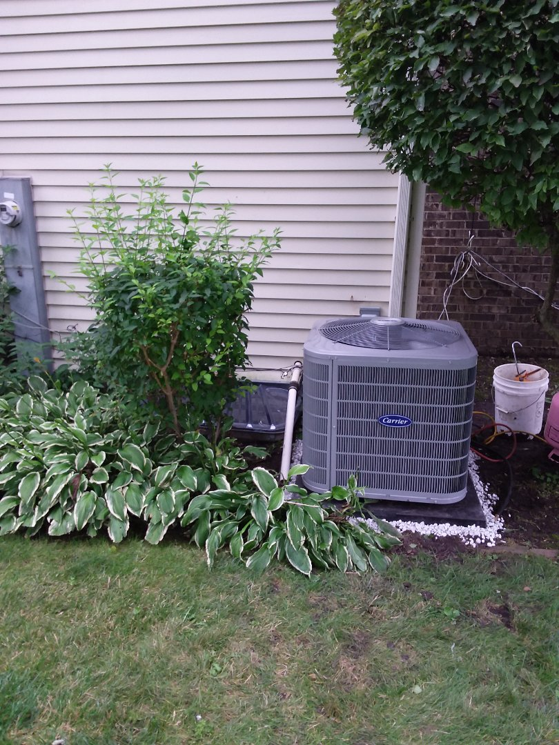 Northbrook, IL - Installation of Carrier Air Conditioner