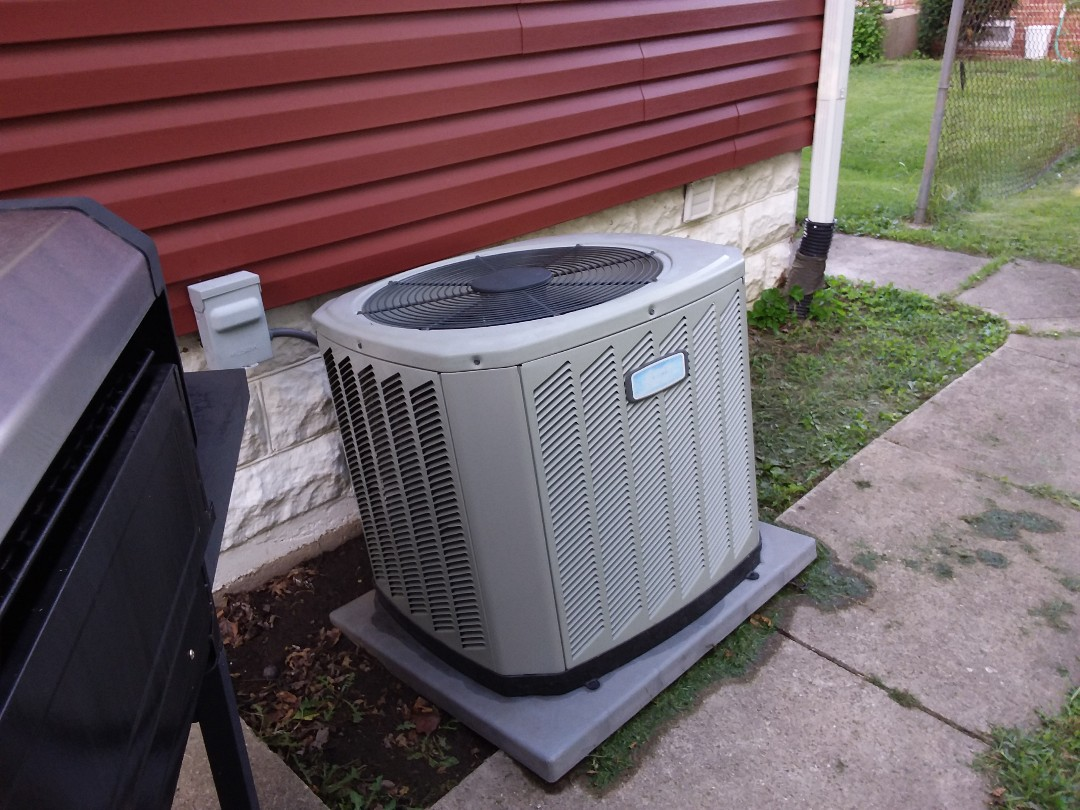 Aurora, IL - Cleaned and checked a/c