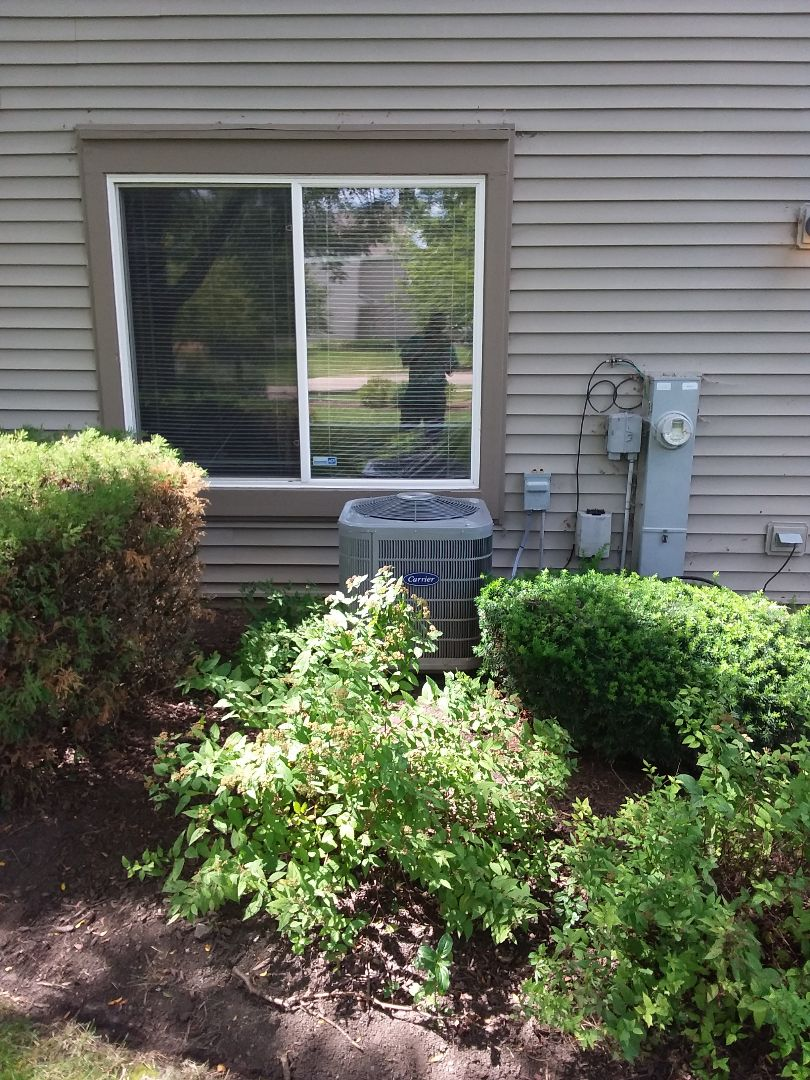 Aurora, IL - Installation of Carrier Air Conditioner