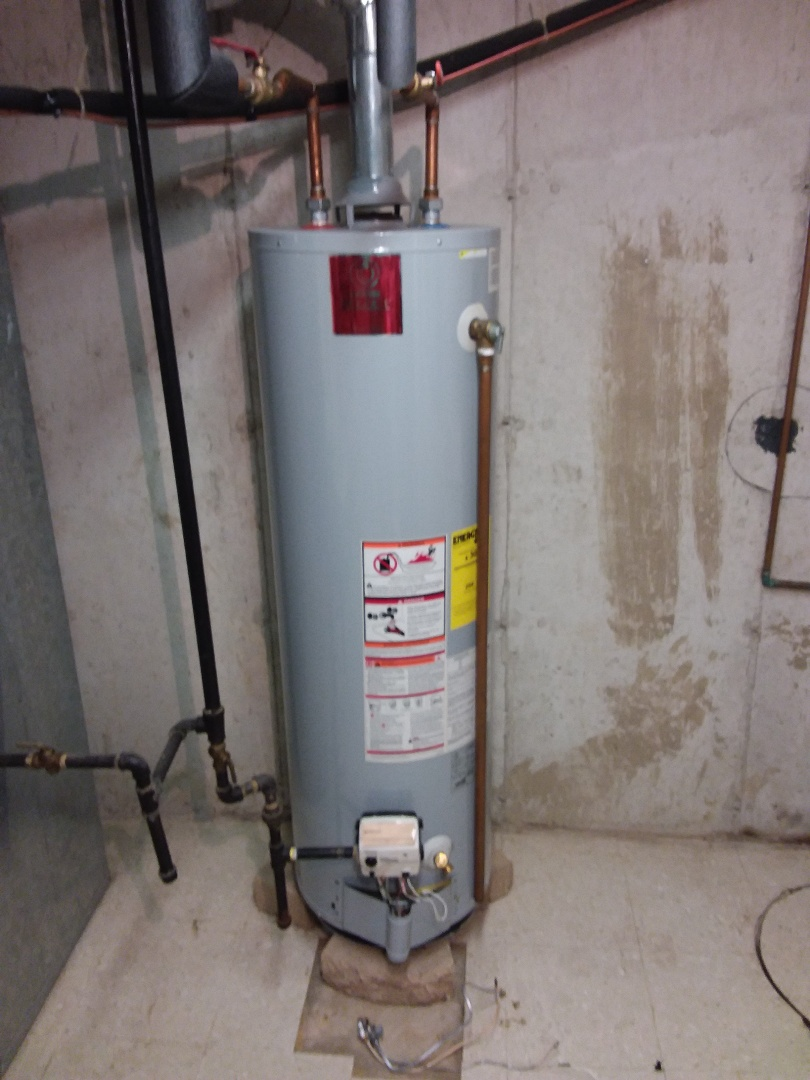 Orland Park, IL - Hot water heater install