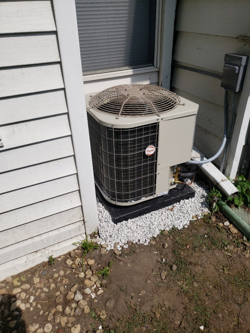 Markham, IL - Payne air conditioner installation
