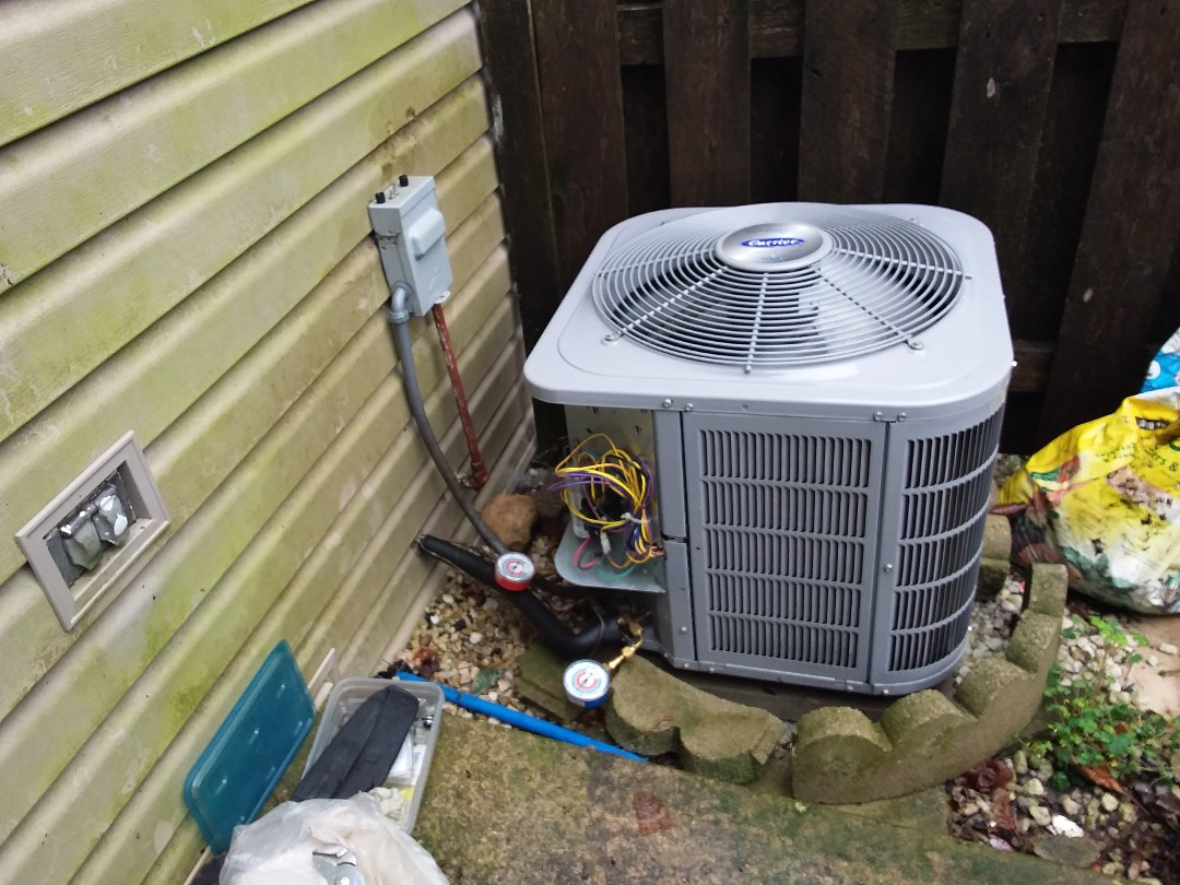 Palatine, IL - Cleaned and checked a/c and furnace and humidifier