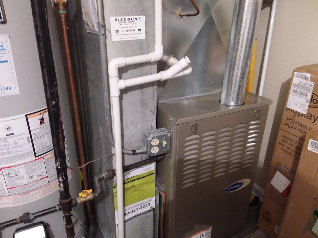 Elk Grove Village, IL - Cleaned and checked furnace