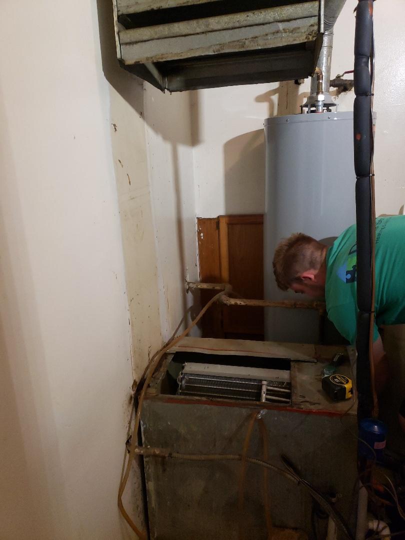 Payne furnace installation
