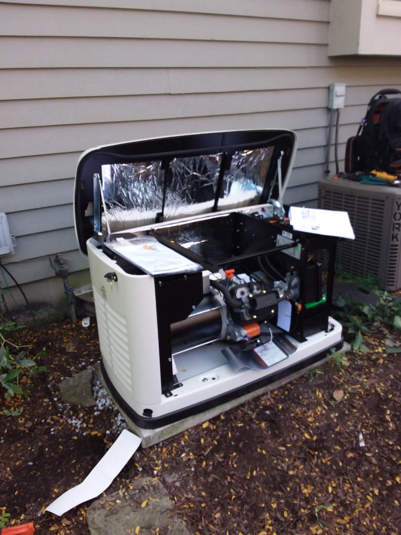 Naperville, IL - Install generac generator