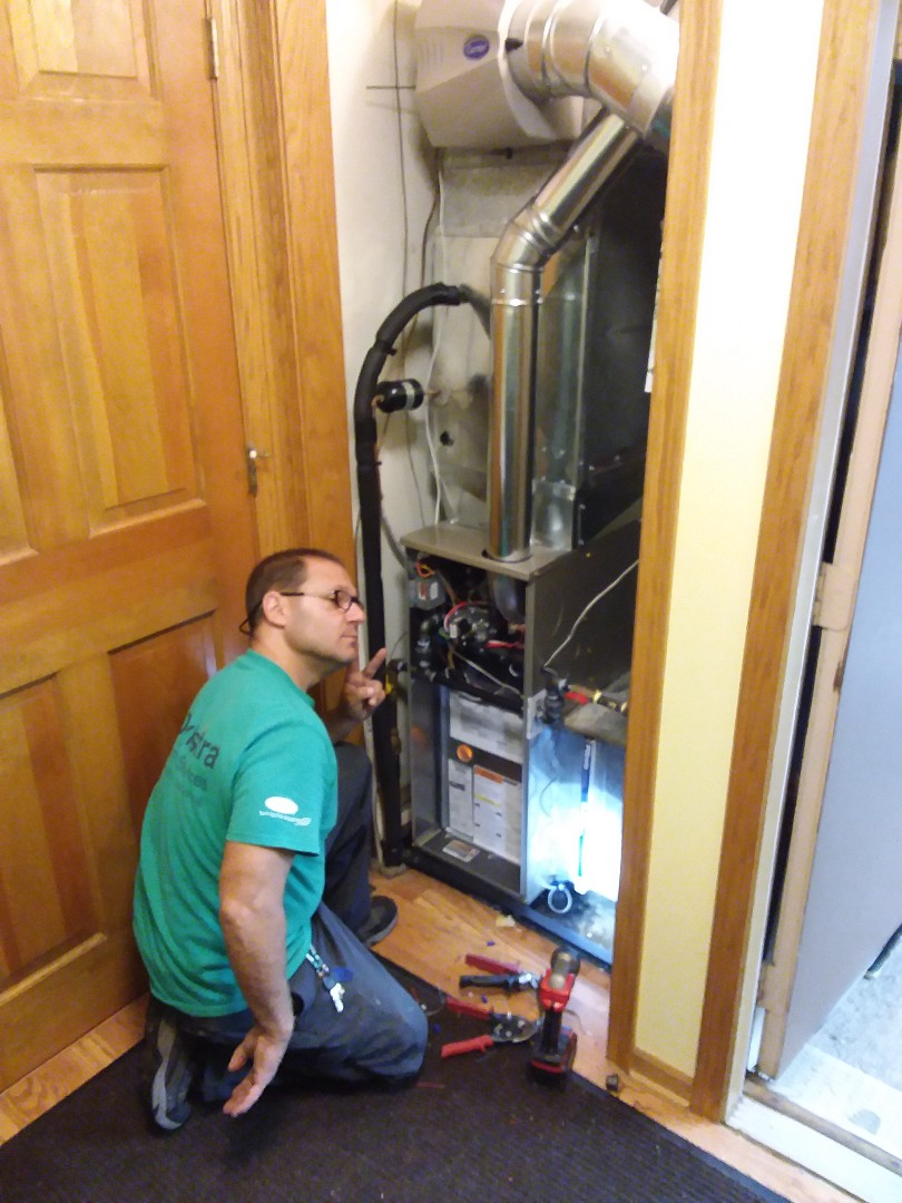 Lockport, IL - Install of a carrier furnace